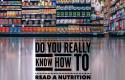 Como ler rótulos de alimentos